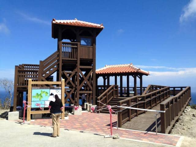 Zamami Island observation tower