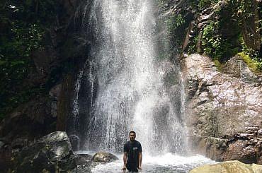 Hong Kong Summer Heat Waterfall Style