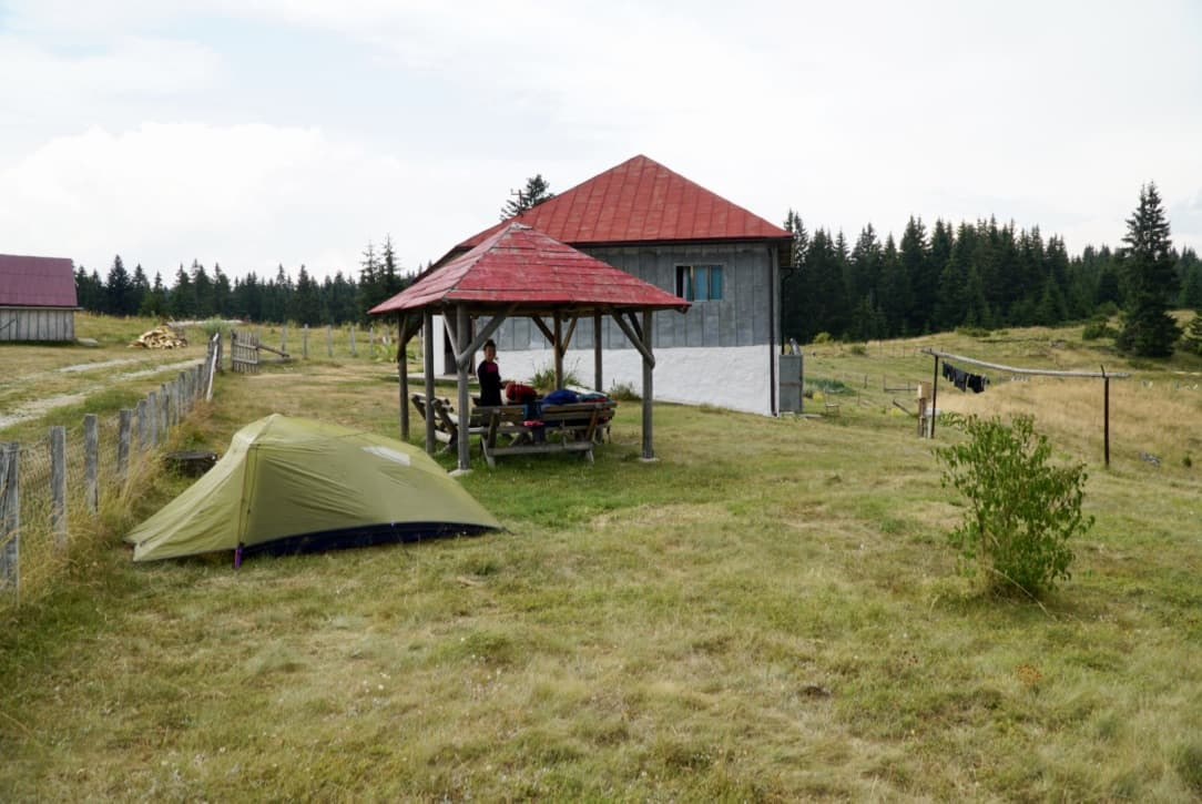 Accommodation on the VDT Via Dinarica Trail Itinerary