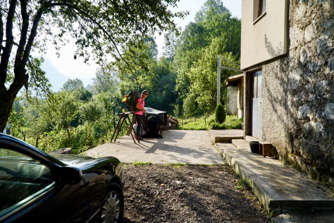 Martinje Via Dinarica Trail Itinerary