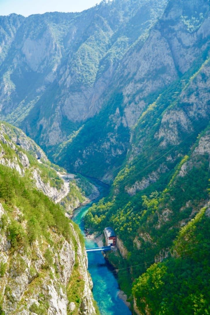 Mratinje Dam Via Dinarica Trail Itinerary