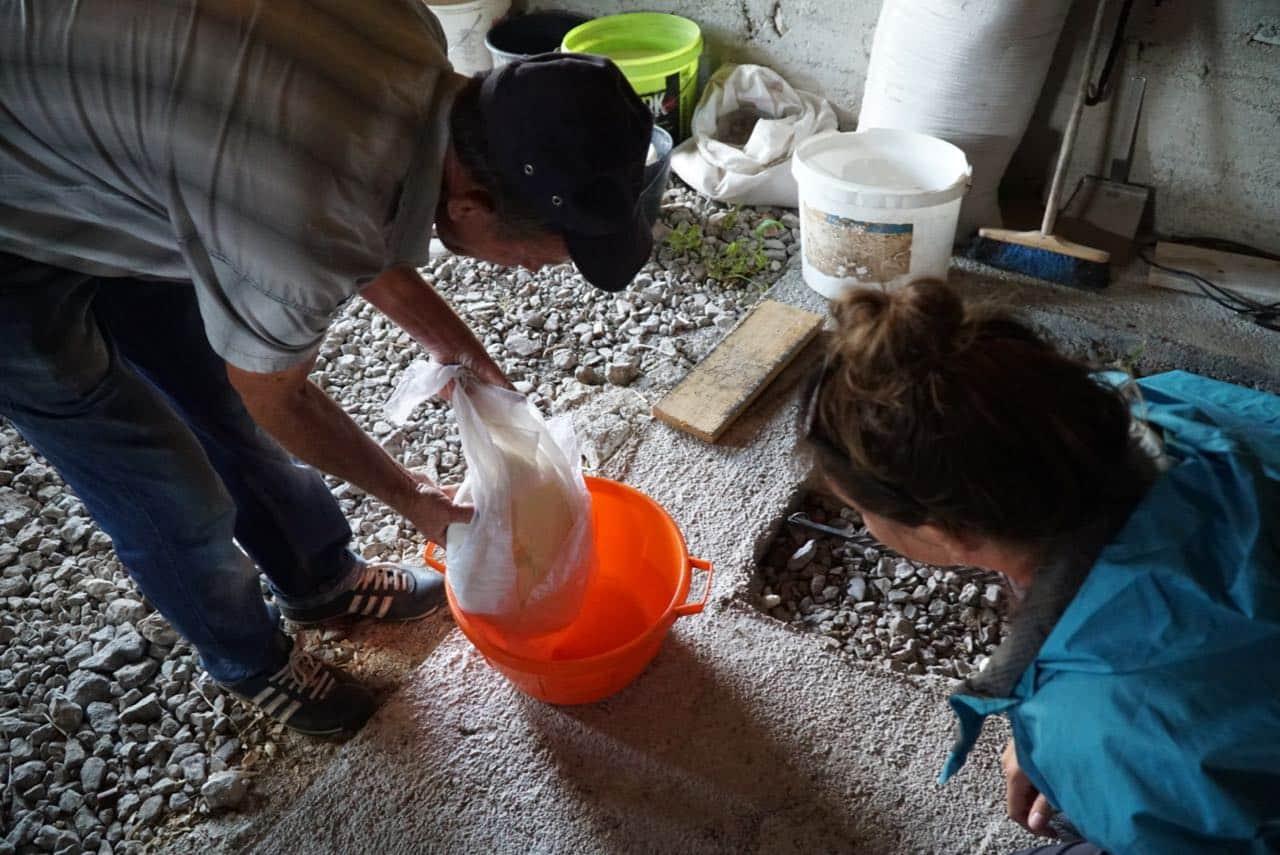 Via Dinarica Trail Mountainside Cheesemaking Lesson Via Dinarica Trail Guide