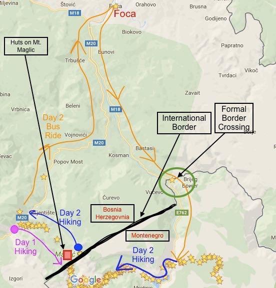 Via Dinarica Trail Cross Border Permits Via Dinarica Trail Guide