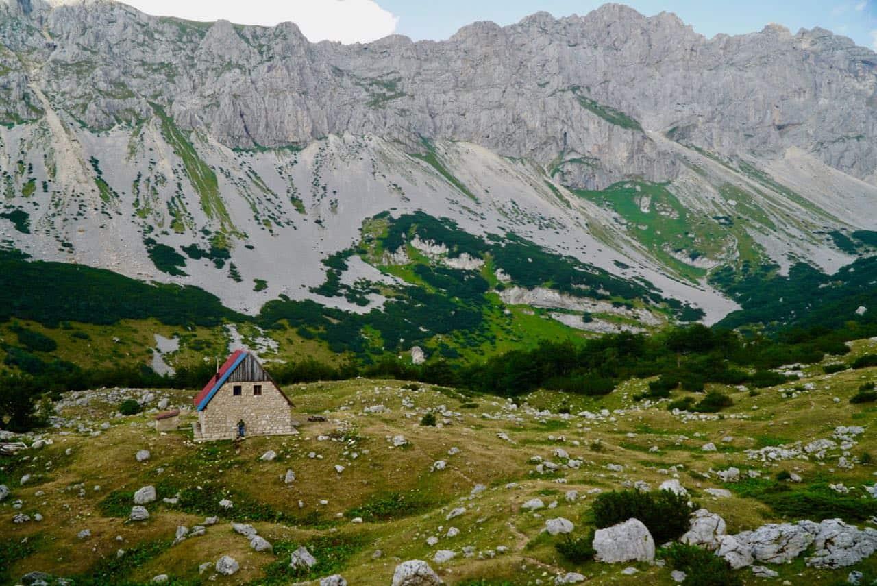Via Dinarica Trail Planinarski Dom Mountain Hut Via Dinarica Trail Guide