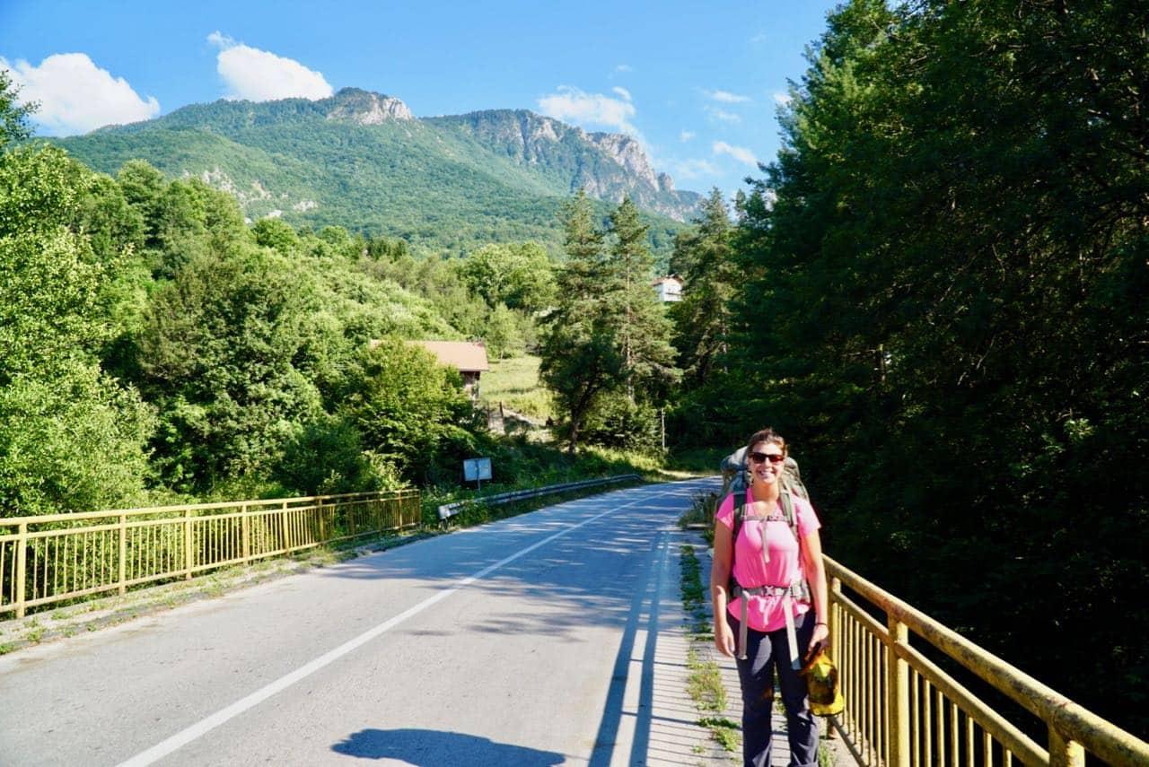 Via Dinarica Trail Wave to Flag Down a Bus Via Dinarica Trail Guide