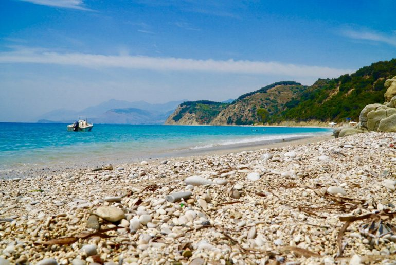 road trip in Albania