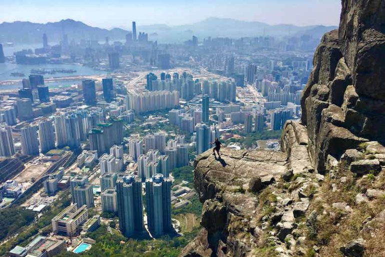 Hike Suicide Cliff in Hong Kong