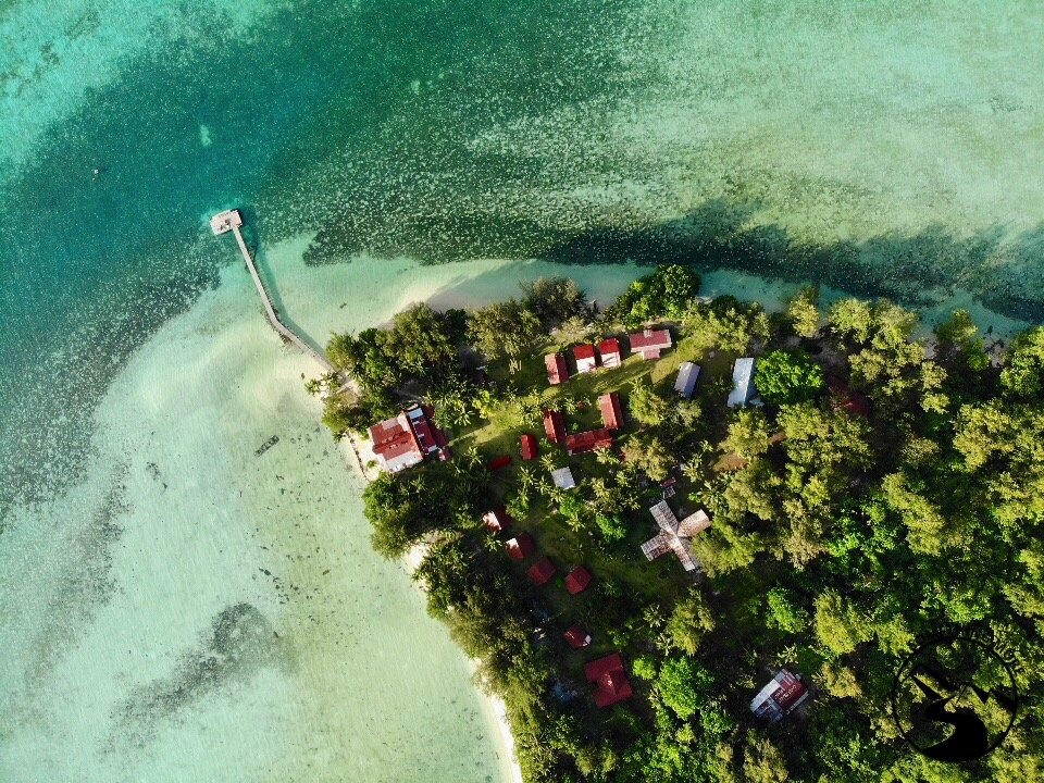 Bring snack food when you stay at Carp Island Resort in Palau