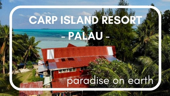 Carp Island Resort in Palau