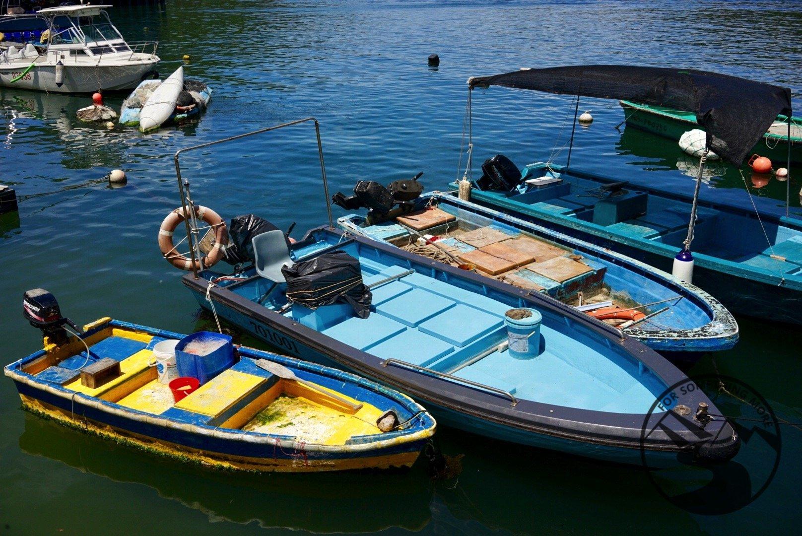 Boats at Sok Kwa Wan Pier