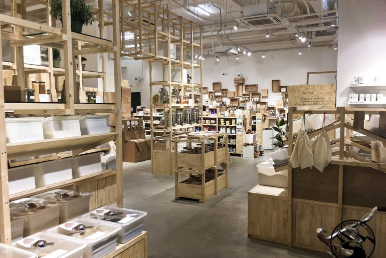 Slowood eco friendly shopping in Kennedy Town Hong Kong