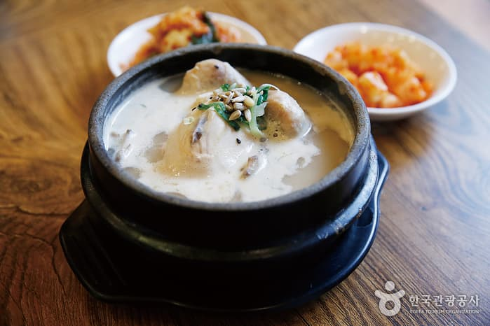 Tosokchon Samgyetang Chicken Two Days in Seoul South Korea