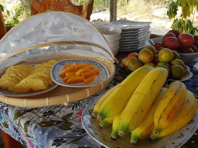 breakfast buffet at Esmeralda View Resort