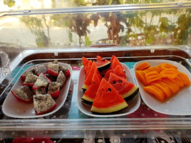 fresh fruit at Esmeralda View Resort