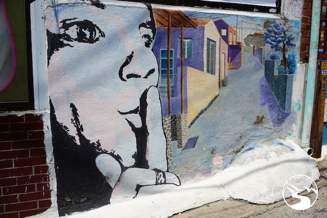 Ihwa Mural Village Two Days in Seoul South Korea
