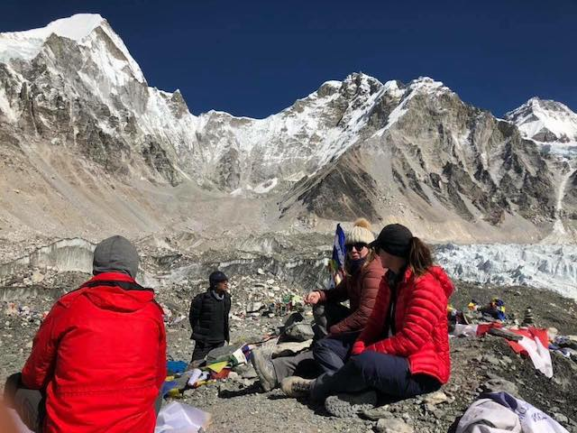 Nepal Trekking Holiday chilling at Mt. Everest Base Camp