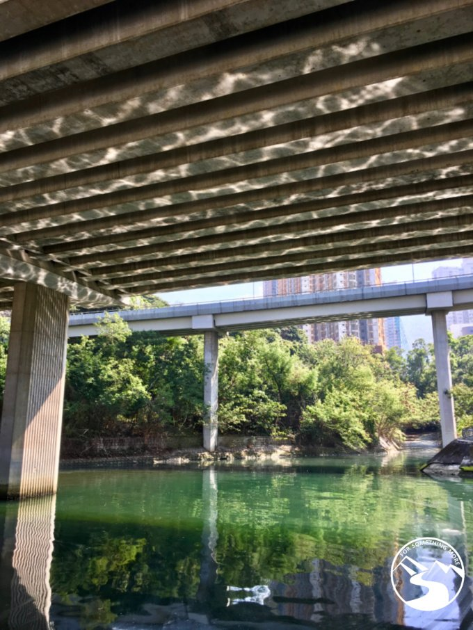 Walk along the Shing Mun River near City One MTR station as you begin your hike to Suicide Cliff