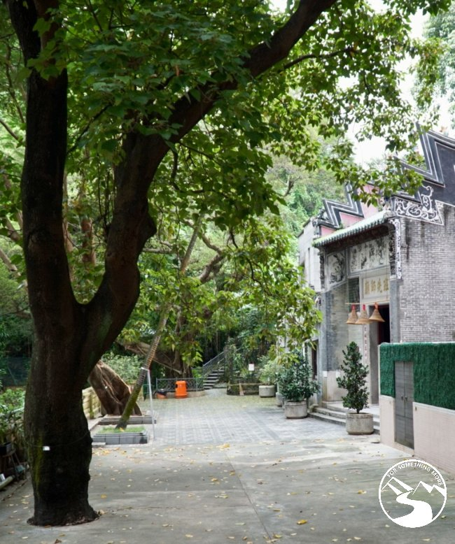 You will encounter the Lo Pan Temple while Hiking in Kennedy Town up High West