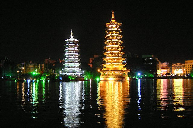 Picture from the Guilin Four Lakes Night Cruise