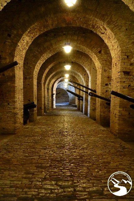 Inside Gjirokaster Castle