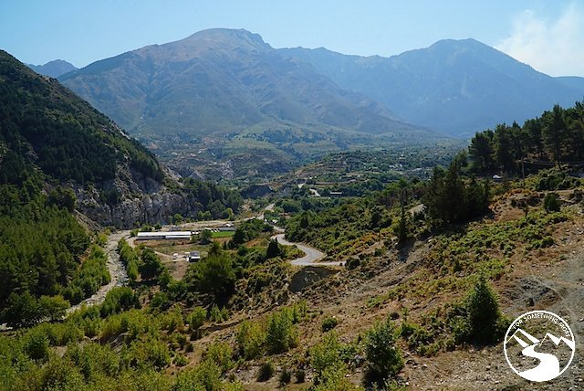 We started to drive up into the mountains of Albania