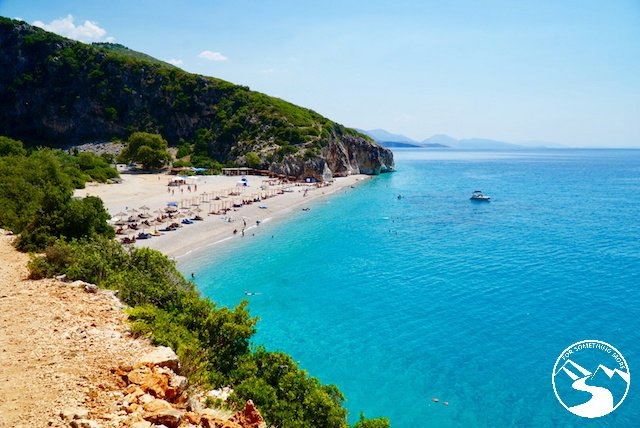 A secret beach we found during our road trip in Albania