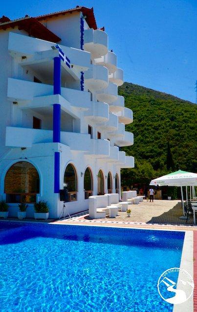 Hotel Palace Lukova had a great pool