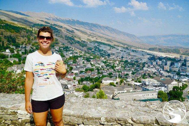 Views from atop Gjirokaster Castle
