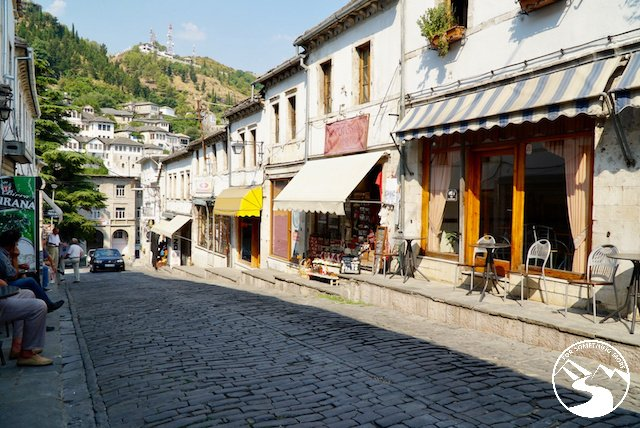 At the base of Gjirokaster Castle there are many interesting cobblestone streets down which you can wander