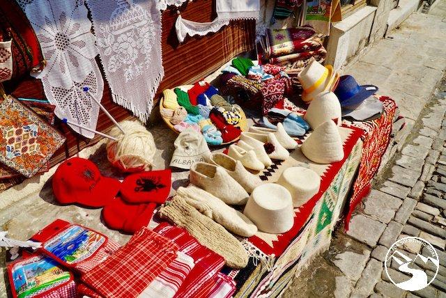 souvenirs at Gjirokaster Castle