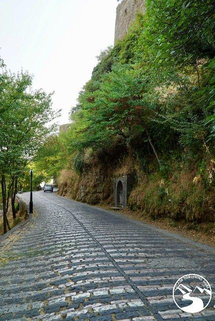 Heading back to Tirana from Gjirokaster Castle