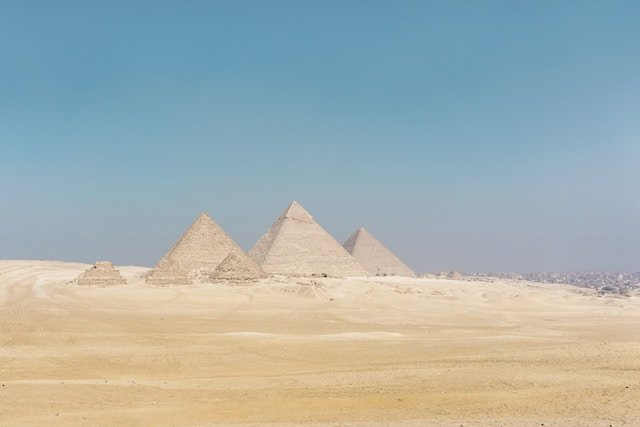 Visiting the pyramids in Egypt is one of the fastest growing travel destinations