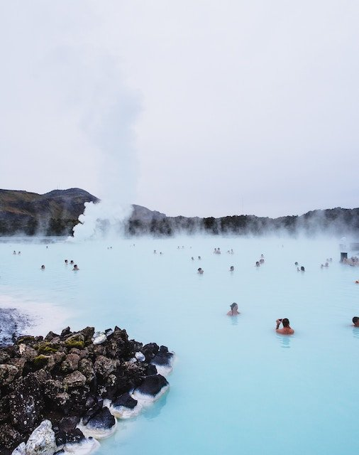 Hot springs in Iceland are becoming increasingly popular