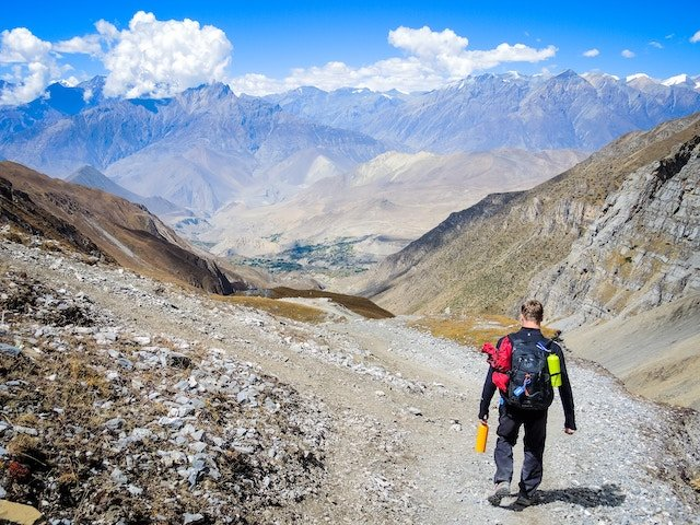 The mountains of Nepal are one of the fastest growing travel destinations