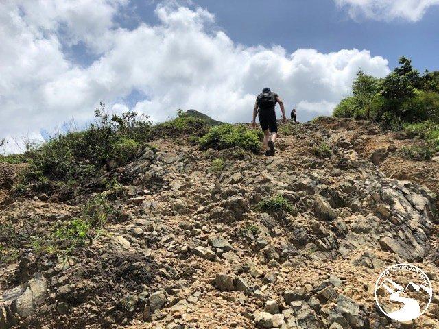 the terrain is challenging