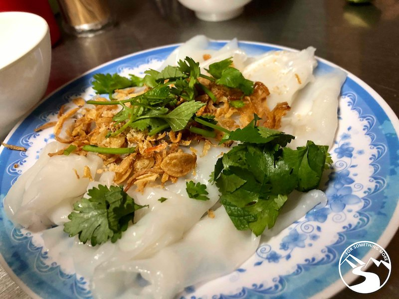 Banh Mon is indeed a best street food in Hanoi