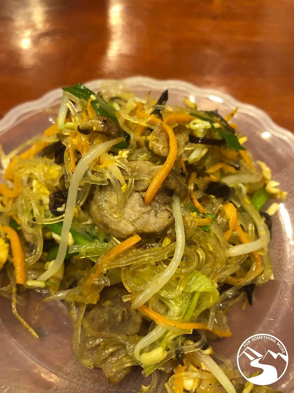 Mein Xao Bo is a delicious glass noodle dish and is a best street food in Hanoi