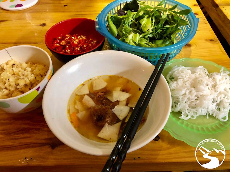 Bun Cha is simple and delicious