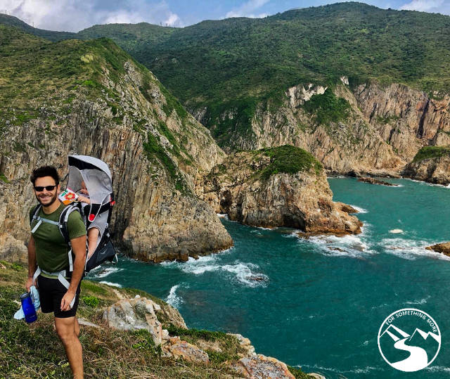 You can hike Tung Lung Island with a baby