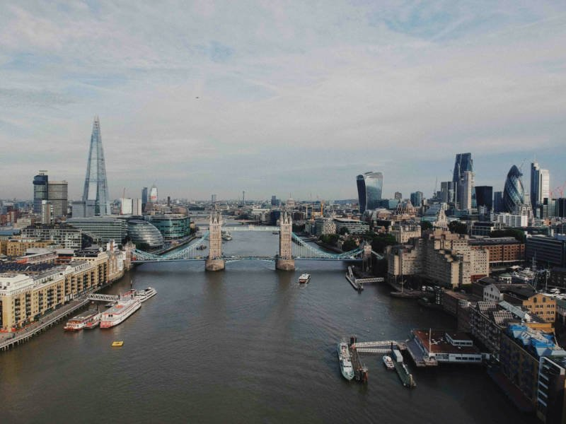The Thames River on a 12 hour itinerary for London