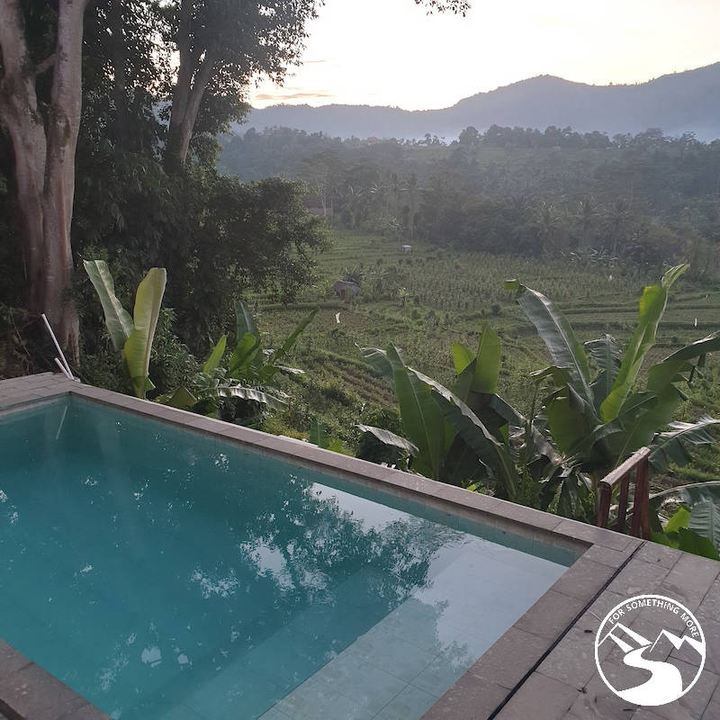 Sidemen, Bali is full of rice fields and is off the beaten track