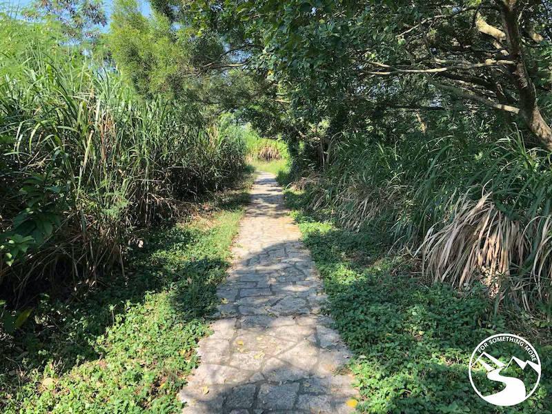 path to Lei Yue Mun village