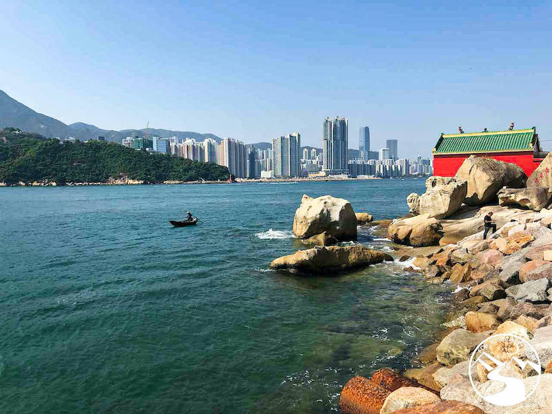 view from Lai Yue Mun Village