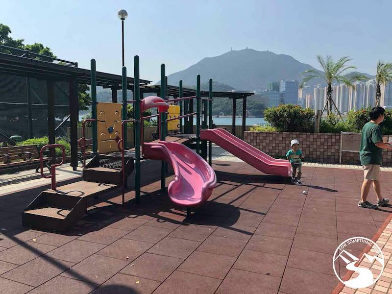 playground in Lai Yue Mun Village