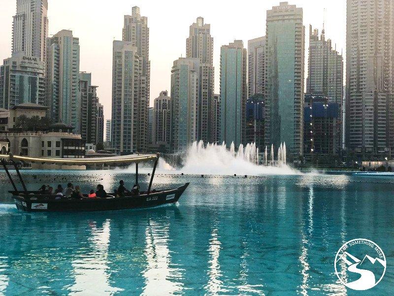 Dubai Fountain Show week in Dubai itinerary