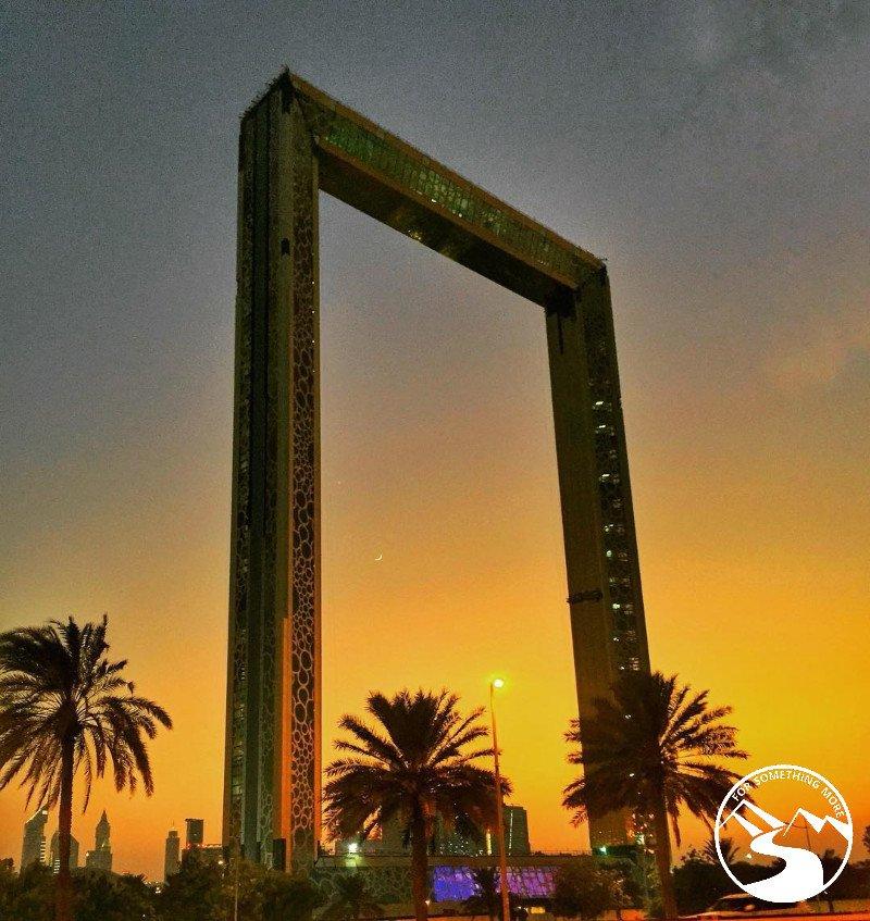 Dubai Frame week in Dubai itinerary