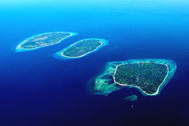 The Gili Islands on Bali off the beaten track