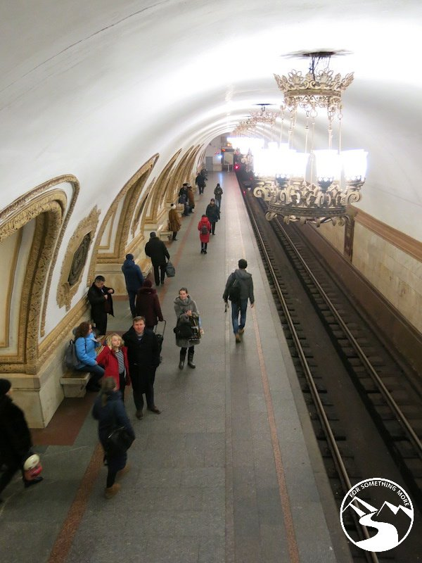 travel to Moscow with kids and use the metro