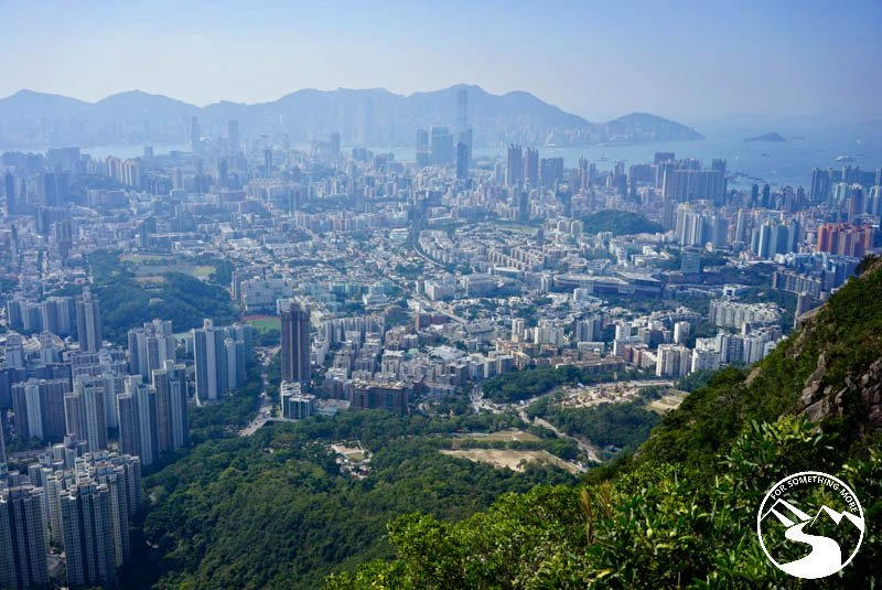 A view of Kowloon and Hong Kong Island from Lion Rock