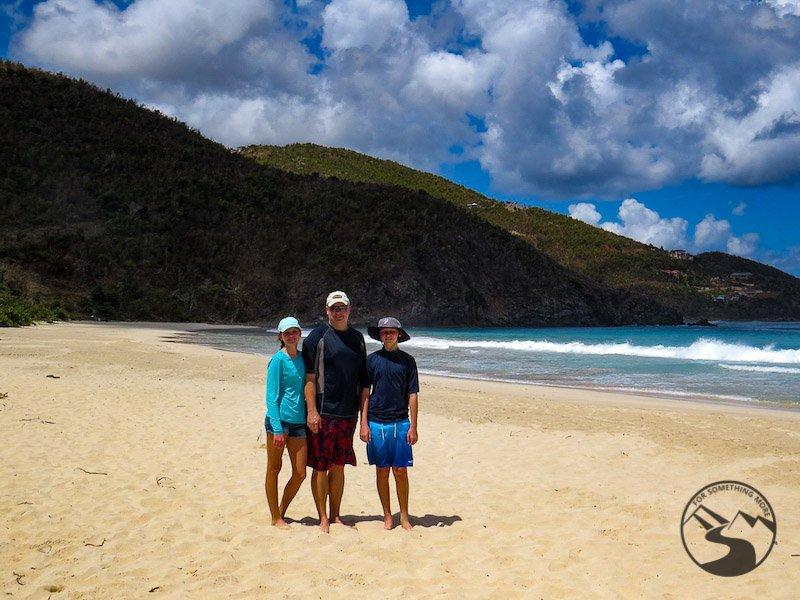 Tortola Beaches Josiah's Beach